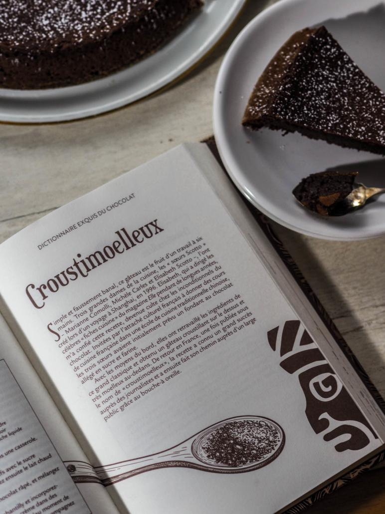 Histoire du croustimoelleux dans le Dictionnaire exquis du chocolat
