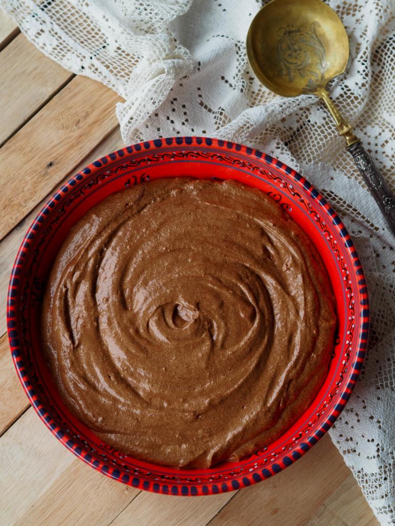 Mousse au chocolat pour le dessert