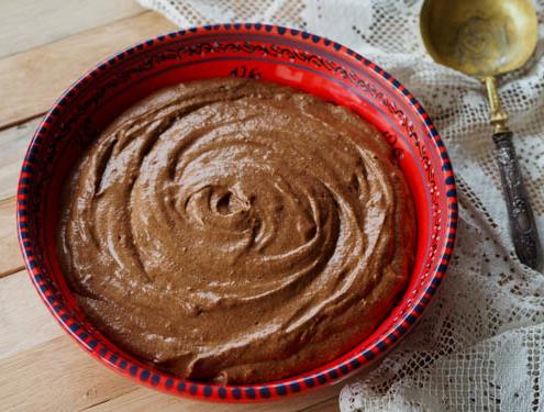 mousse au chocolat maison, deux ingrédients seulement