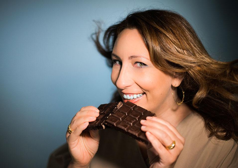Nathalie Helal, journaliste culinaire