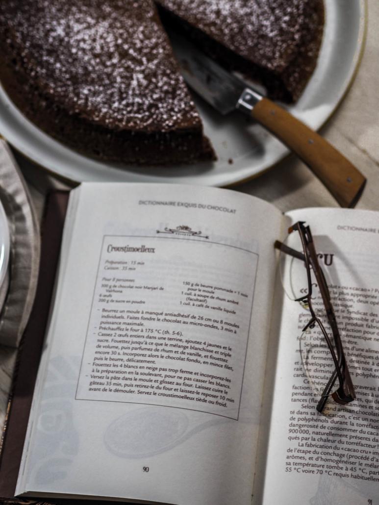 Recette du croustimoelleux dans le Dictionnaire exquis du chocolat