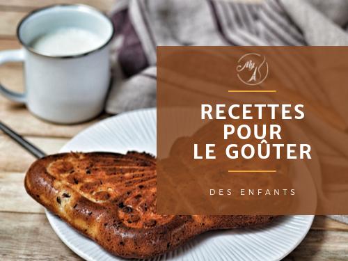 Recettes pour le goûter et le tea time du blog culinaire My Parisian Kitchen