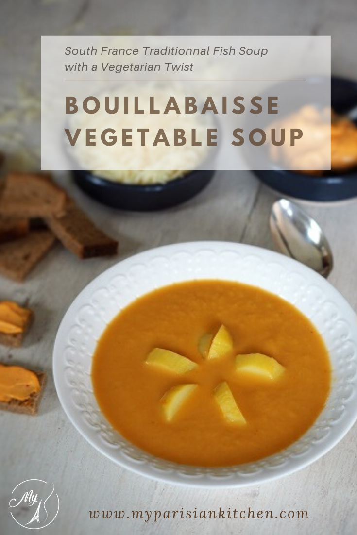 Iconic French Bouillabaisse turned to a vegetables soup