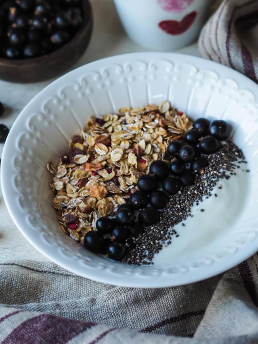 petit-déjeuner avec flocons d'avoine bio Celnat