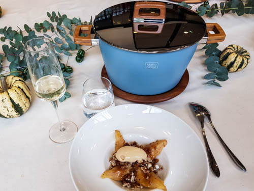 cuisine avec la cocotte Maho Nabe une recette du chef Alain Passard