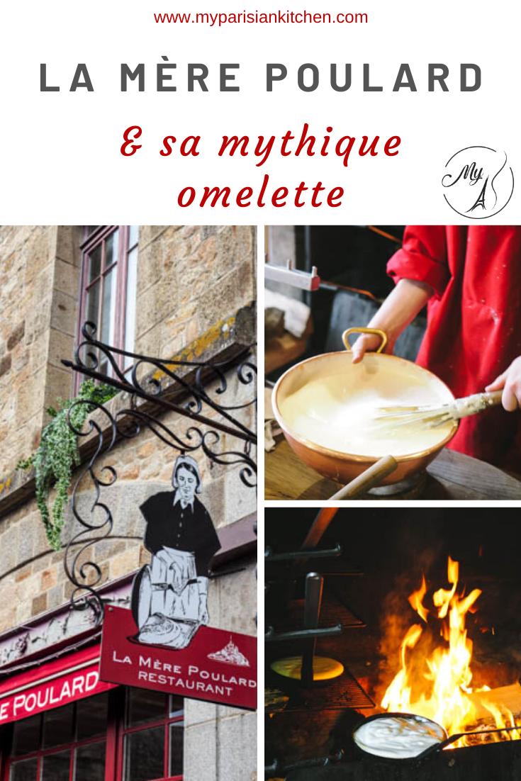 Omelette de la Mère Poulard et son histoire
