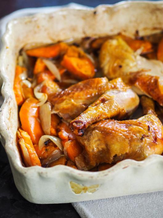 poulet rôti du dimanche au four