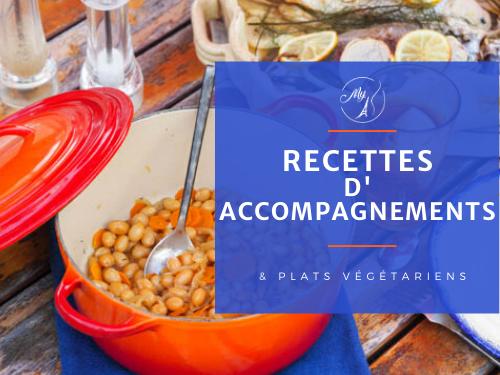 recettes d'accompagnements et plats végétariens du blog culinaire My Parisian Kitchen