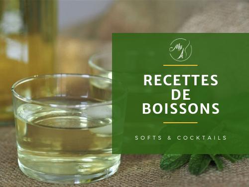 recettes de boissons, soft ou cocktails du blog culinaire My Parisian Kitchen