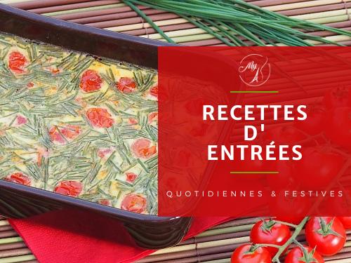 recettes d'entrées cuisine familiale ou entrées festives du blog culinaire My Parisian Kitchen