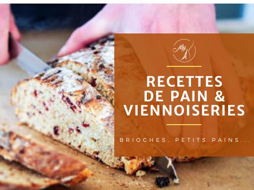 recettes de pains et viennoiseries du blog culinaire My Parisian Kitchen
