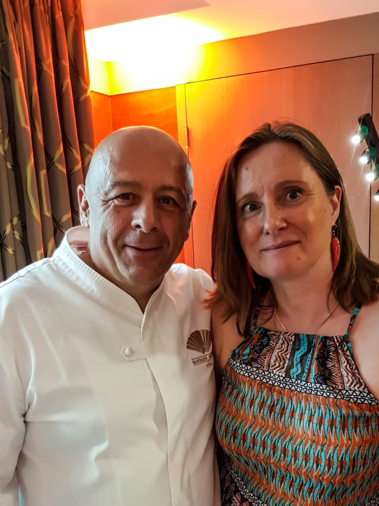 Chef Thierry Marx et florence Richomme