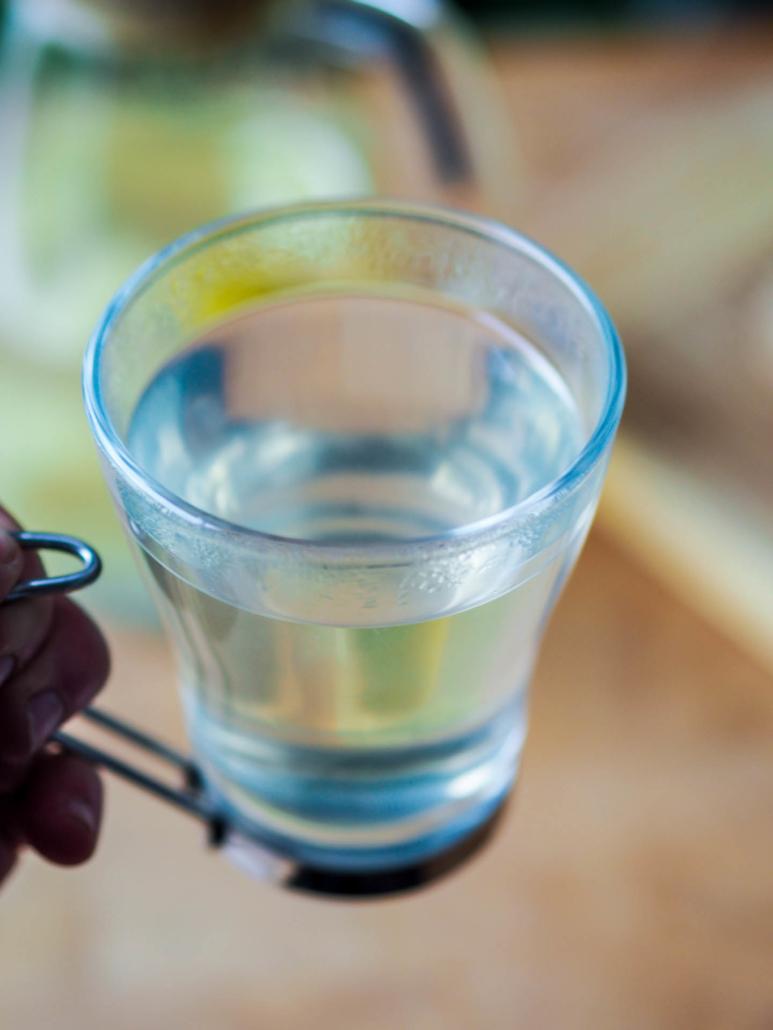 eau detox gingembre et citron