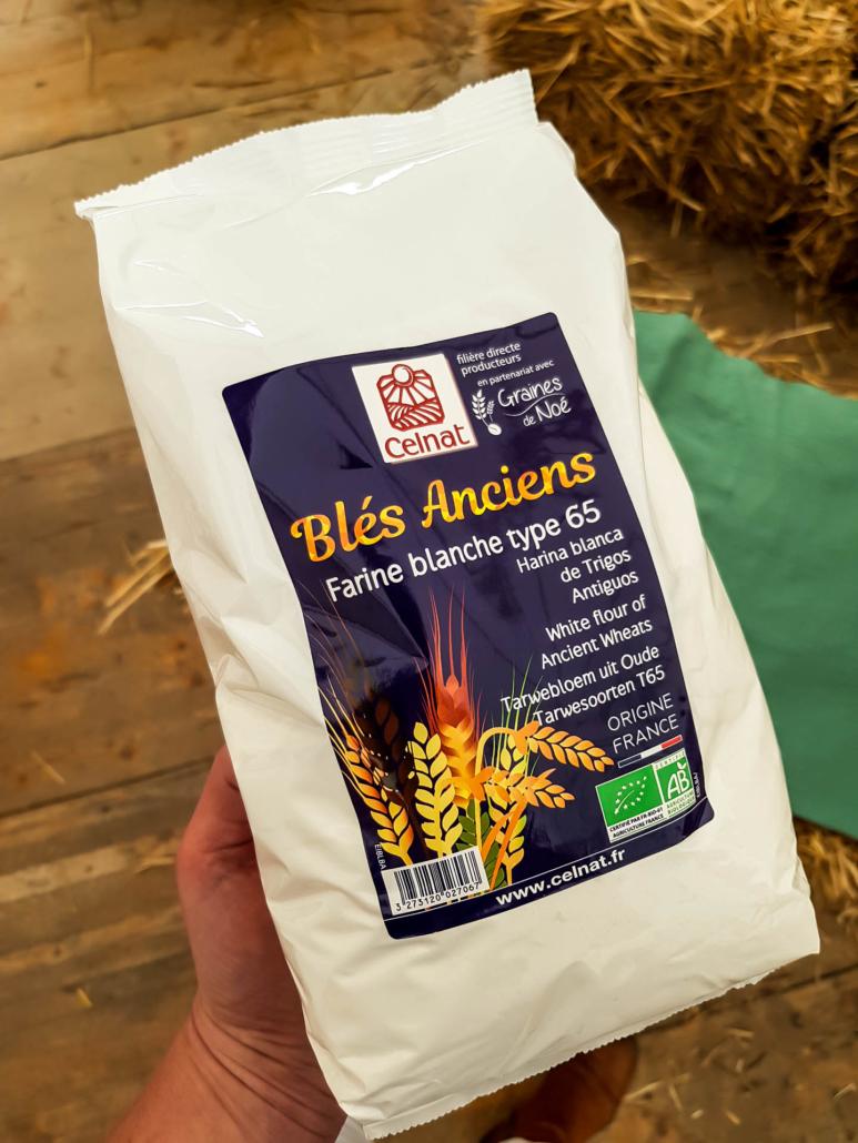 farine de blés anciens agriculture biologique celnat