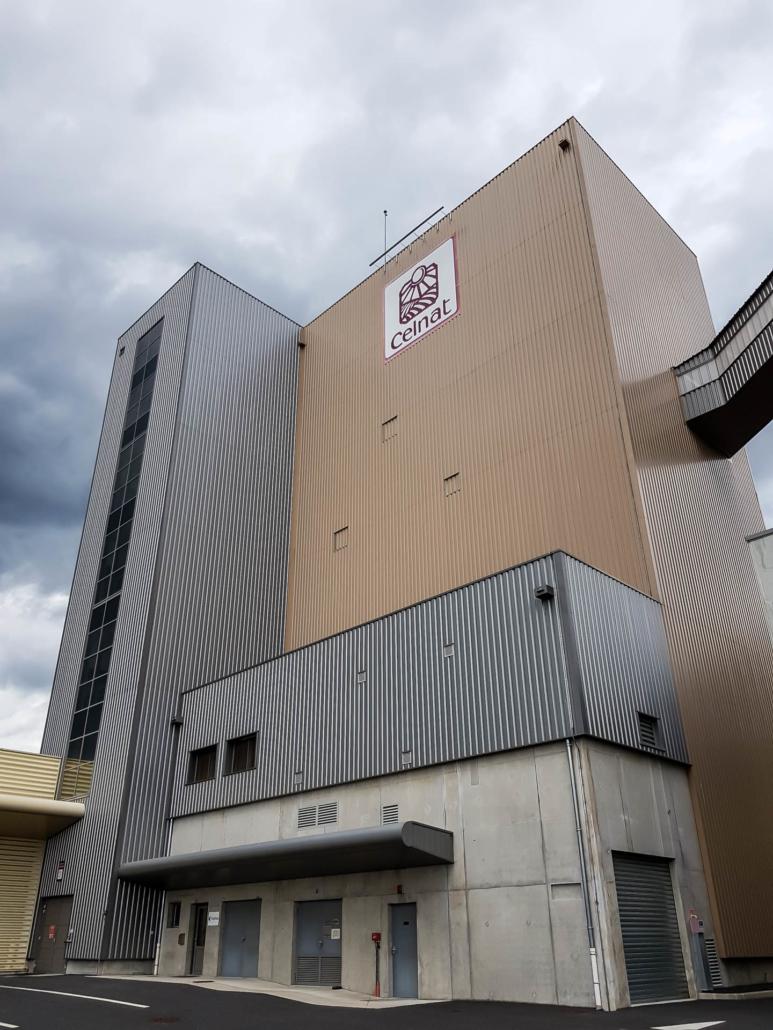 visite des usines celnat meunier français bio