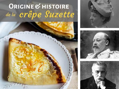 origine et histoire de la crêpe Suzette