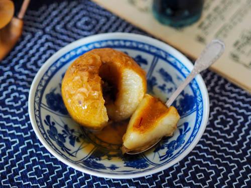 pomme au four au safran
