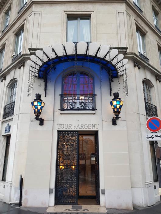 restaurant étoilé de Paris la Tour d'Argent