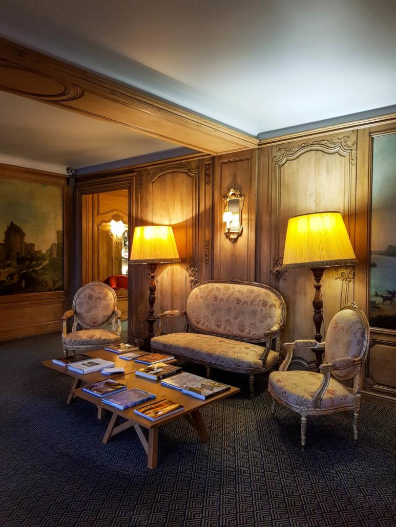 petit salon du restaurant la Tour d'Argent