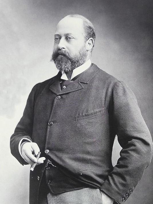 Le roi d'Angleterre Edouard VII