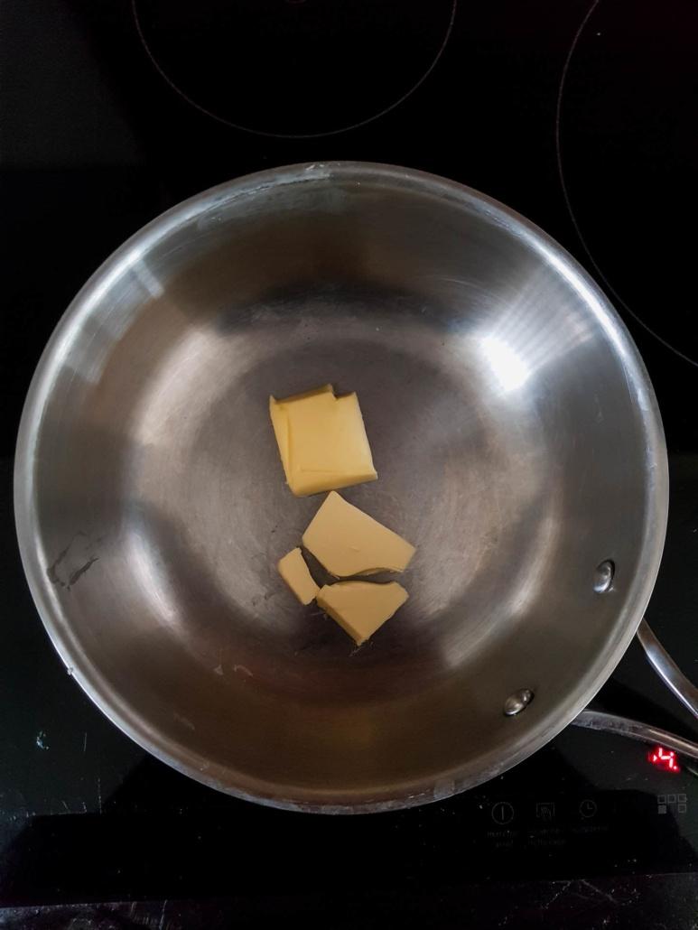 faire fondre le beurre