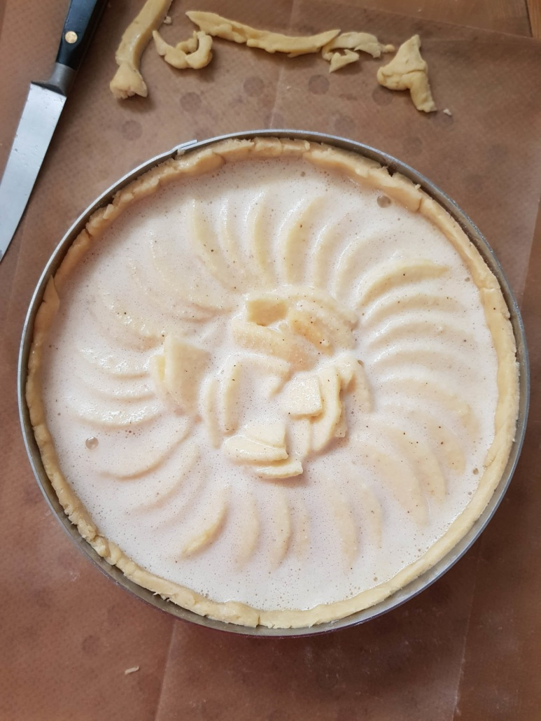 this apple tart will be a delicious treat