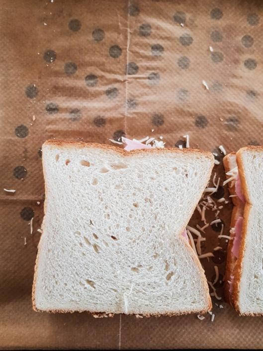 croque monsieur sandwich chaud