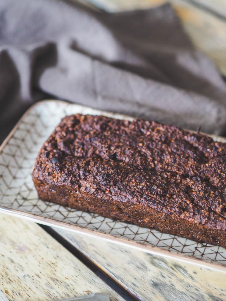 cake avec des ingrédients bons pour la santé