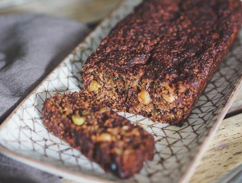 gâteau healthy sans gluten, sans matière grasse, sans œuf, sans sucres ajoutés