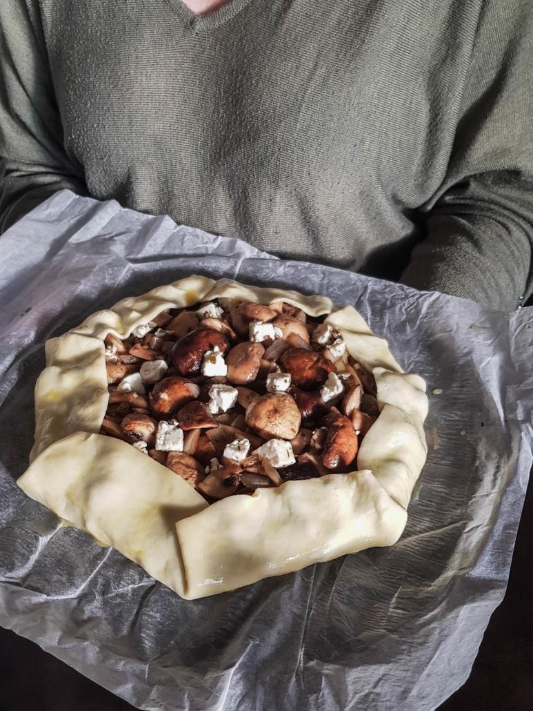 tarte rustique aux légumes prête à cuire
