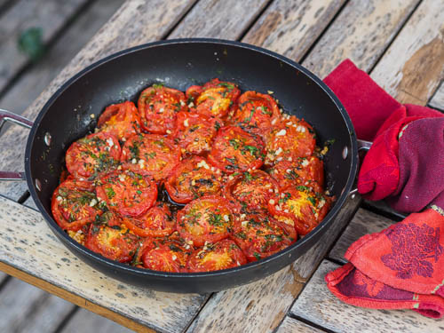 French classic Provencal tomatoes from South-France Provence