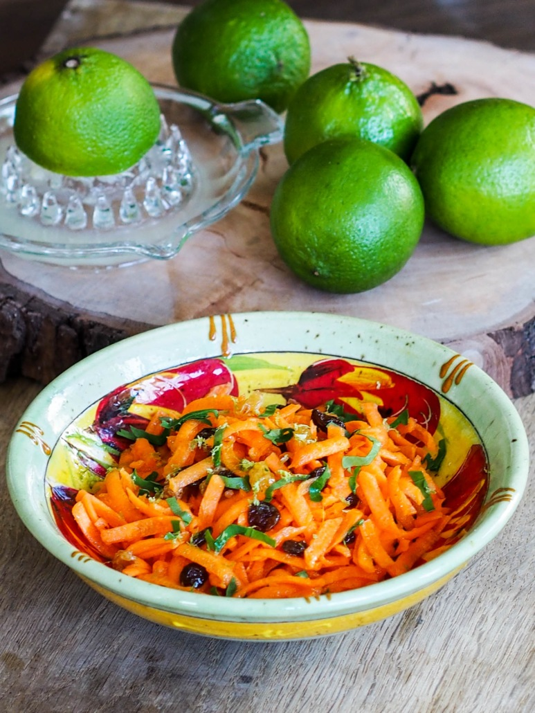 carottes râpées préparée comme le Chef étoilé Alain Passard
