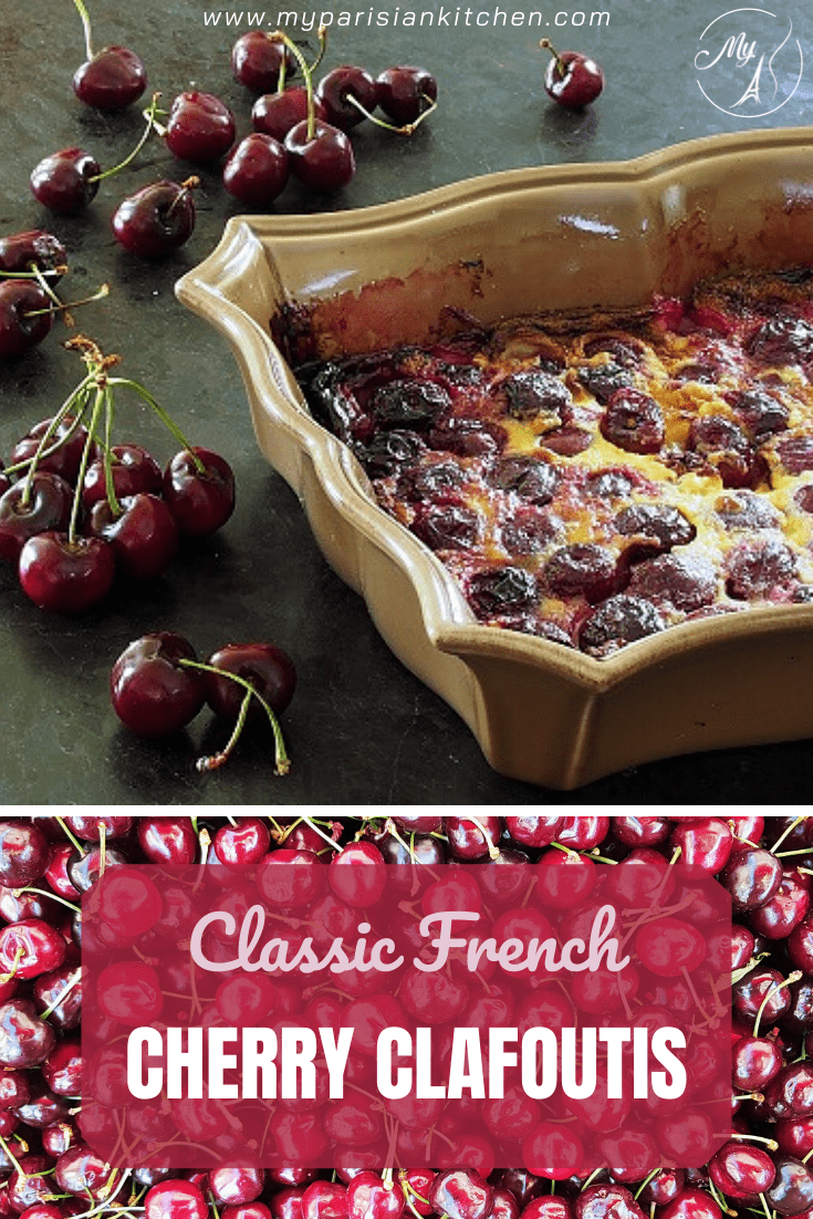 how to make a perfect classic French cherry clafoutis