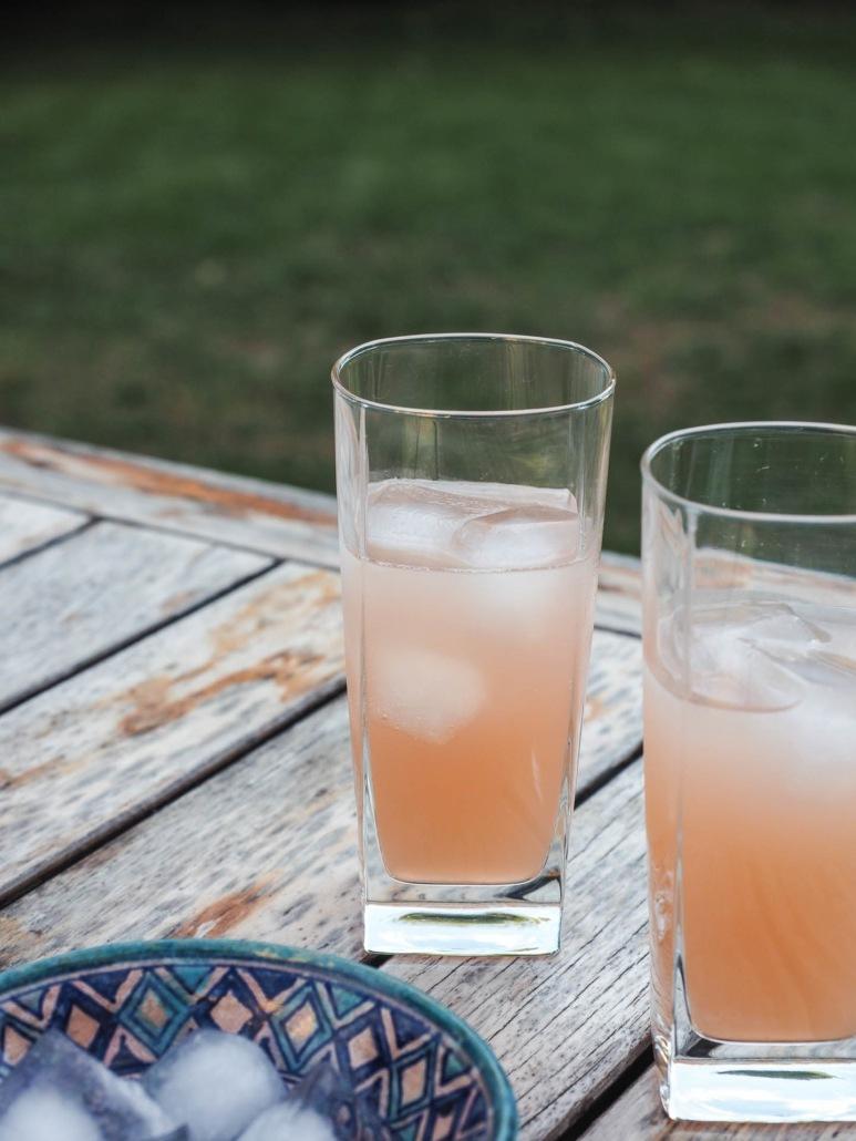 jus de rhubarbe pour cocktails