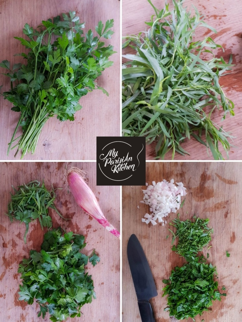 how to mince fresh herbs step by step