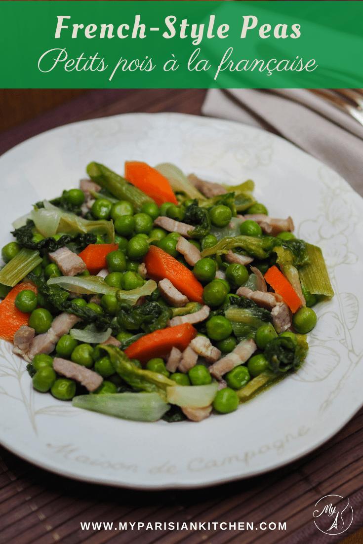 French-style peas petits pois à la française