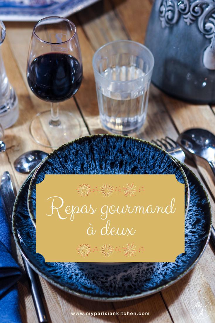 Idées gourmandes pour repas à deux ou en petit comité