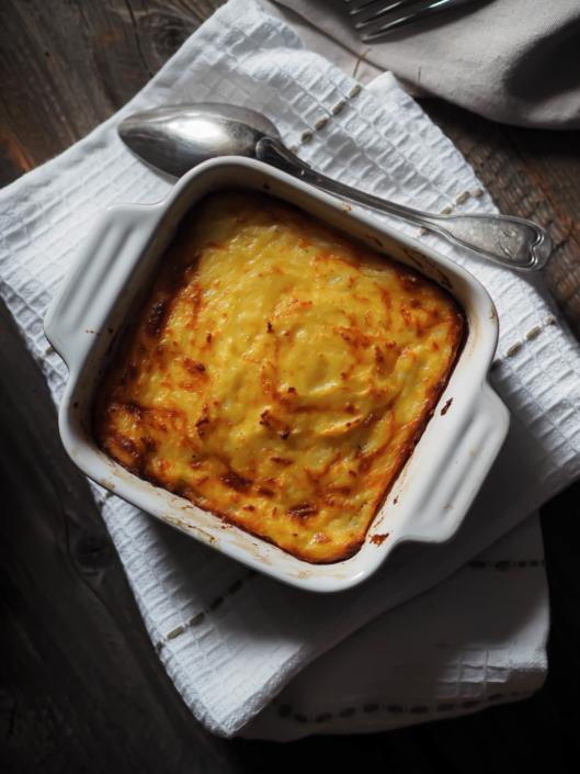 French Mashed Potatoes Gratin