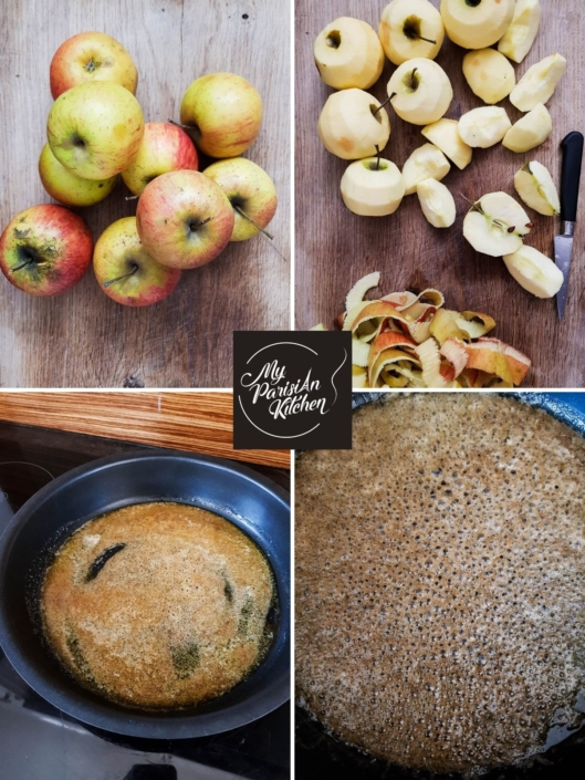 apple tart tatin step by step