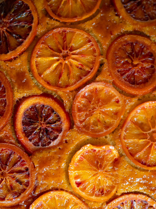 wall paper of blood oranges