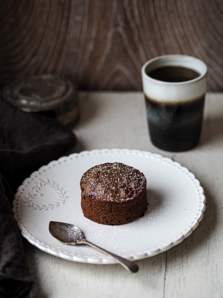 Decadent French chocolate fondant