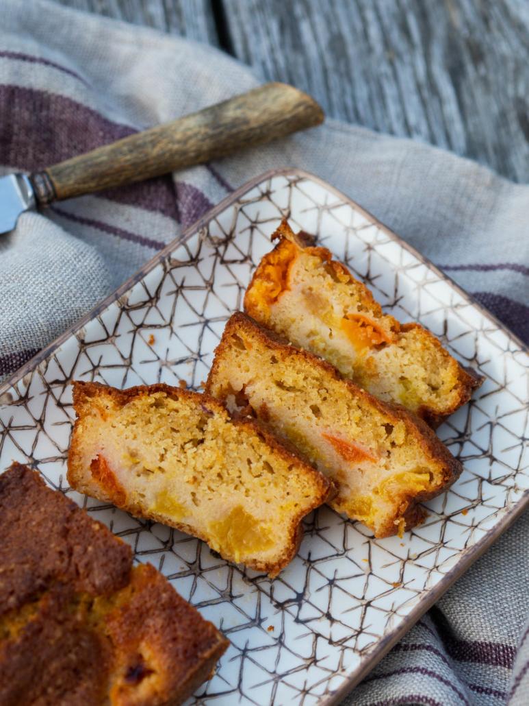 gâteau ultra moelleux abricot et pêche